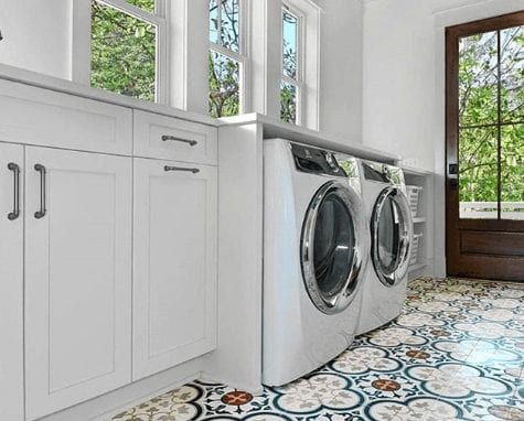 Tile ideas for your house, cement kitchen, geometric tile backsplash, geometric kitchen backsplash