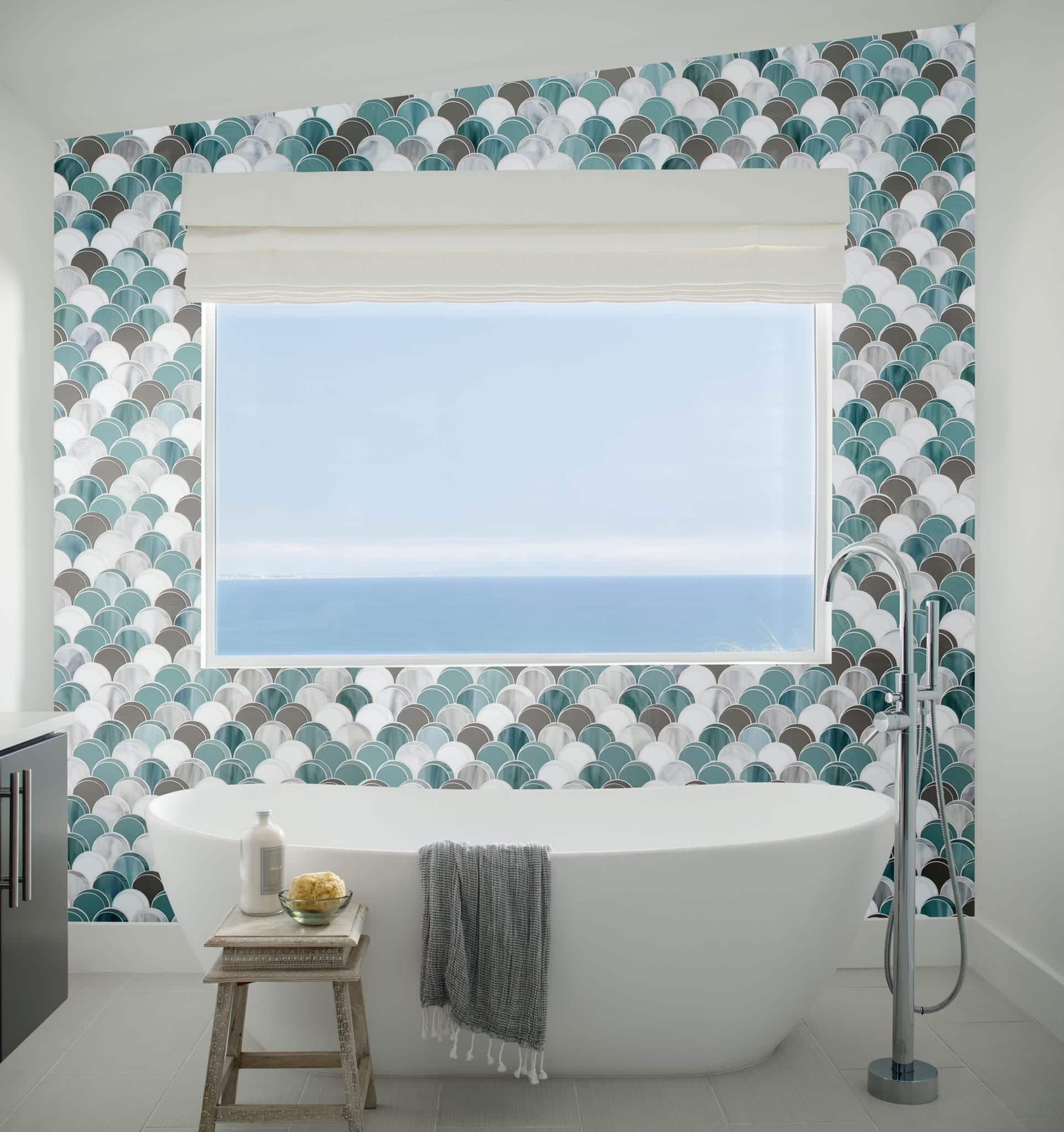 bathroom design ideas 2019, beach bathroom designs, tile designs for your beach house